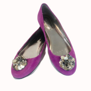 Calvin Klein Purple Maxee Ballet Flat - 7M